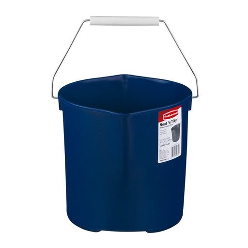 Rubbermaid Neat 'N Tidy Blue Bucket - 11 qt