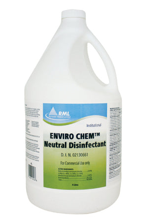 Enviro Chem Neutral Disinfectant - 4 X 4 L