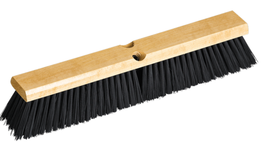 Polypropylene Fill Wood Block Push Broom