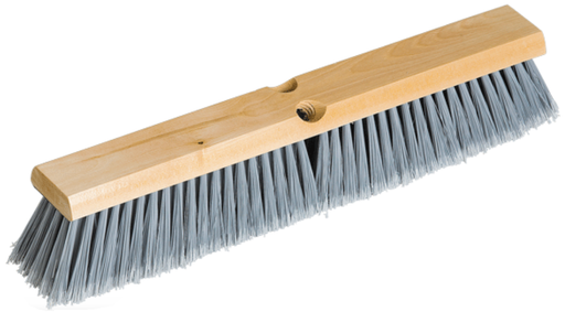Polystyrene Fill Wood Block Push Broom