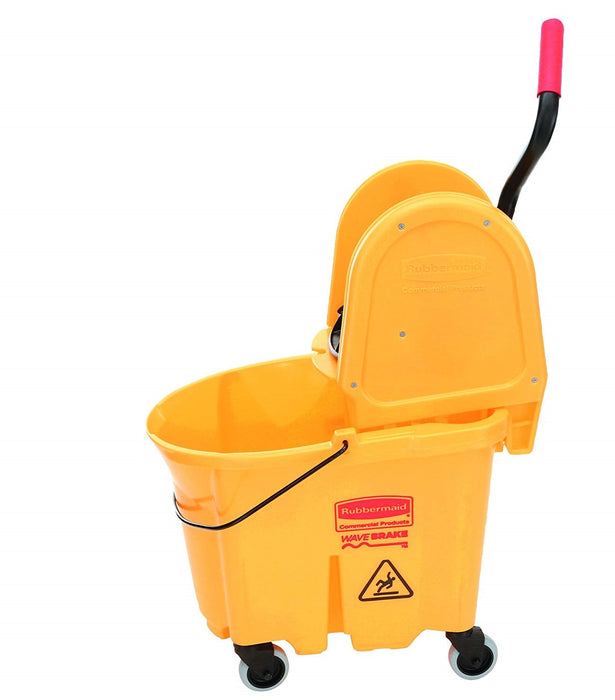Rubbermaid Wavebrake Downpress Bucket and Wringer