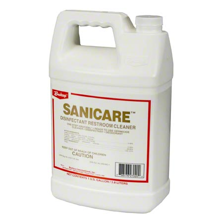 Sanicare Disinfectant Restroom Cleaner - 4 X 1 Gallon