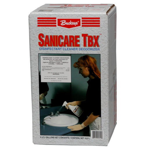 Sanicare TBX Disinfectant Cleaner Deodorizer - 18.9 L