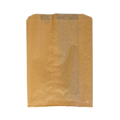 Hospeco Kraft Waxed Female Hygiene Disposal Bags with Gusset