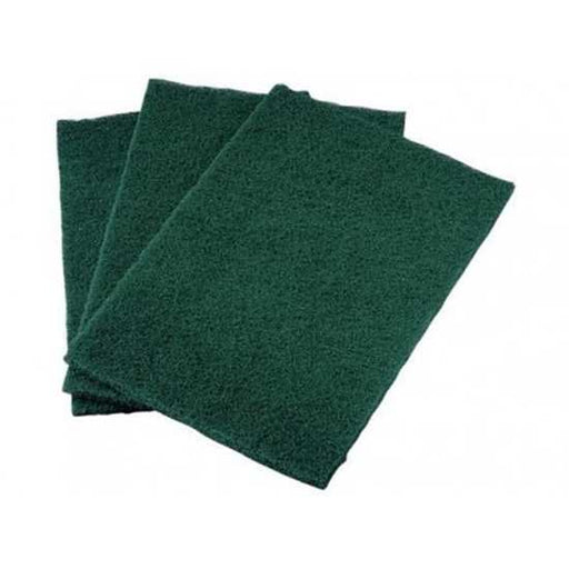 Heavy Duty Large Scouring Pads - 100/Case