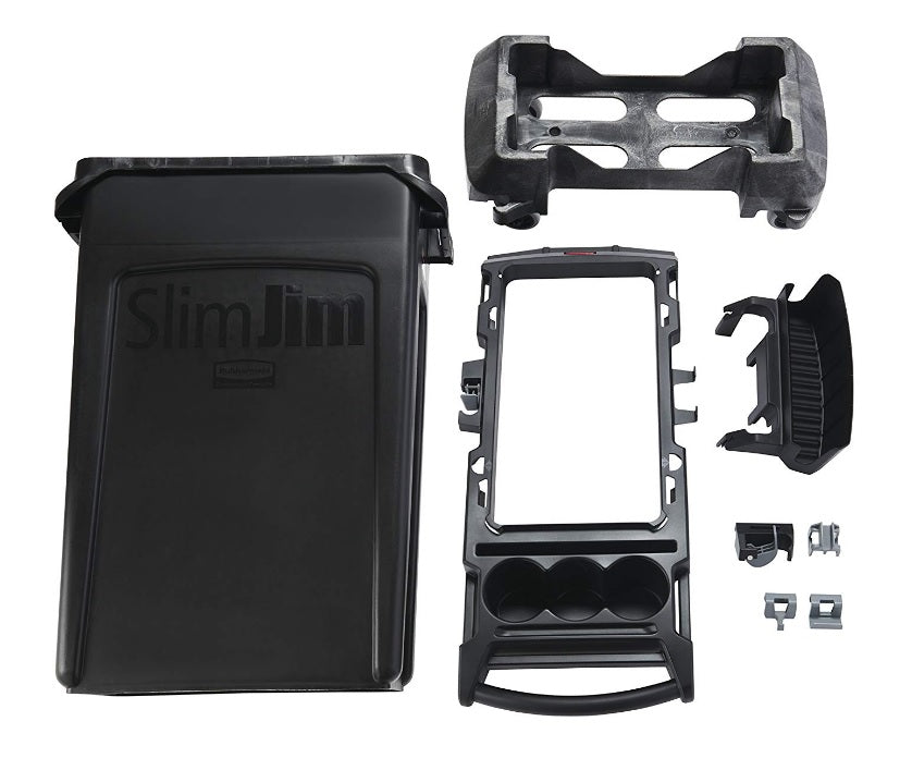 Rubbermaid Slim Jim Rim Caddy Kit