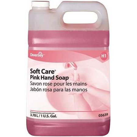 Soft Care Pink Hand Soap - 4 X 1 Gallon