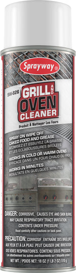Sprayway Grill & Oven Cleaner - 12 X 20 oz.