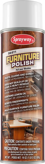 Sprayway Furniture Polish - 538 Grams