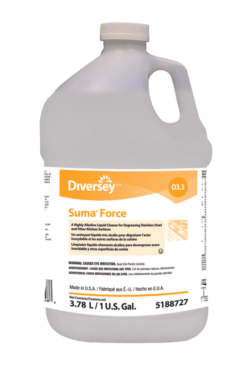 Suma Force D3.5 Kitchen Degreaser - 4 X 1 Gallon