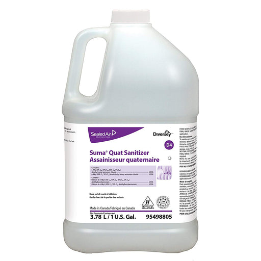 Suma Quat Sanitizer D4 - 4 X 1 Gallon