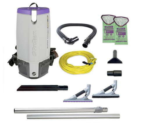 ProTeam Super Coach Pro 10 Backpack Vacuum Problade Tool Kit - 107538