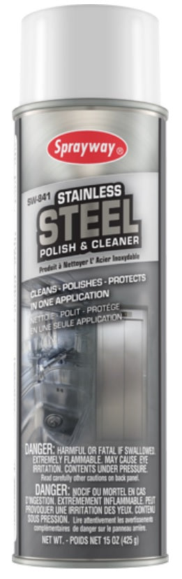 Stainless Steel Cleaner and Polish - 425 Grams