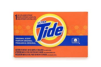 Tide Powder Laundry Detergent Coin Vending - 156 X 1 Ct