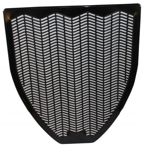 "Fragranced Urinal Mat 20.38x17.5"" Black - 6/cs"