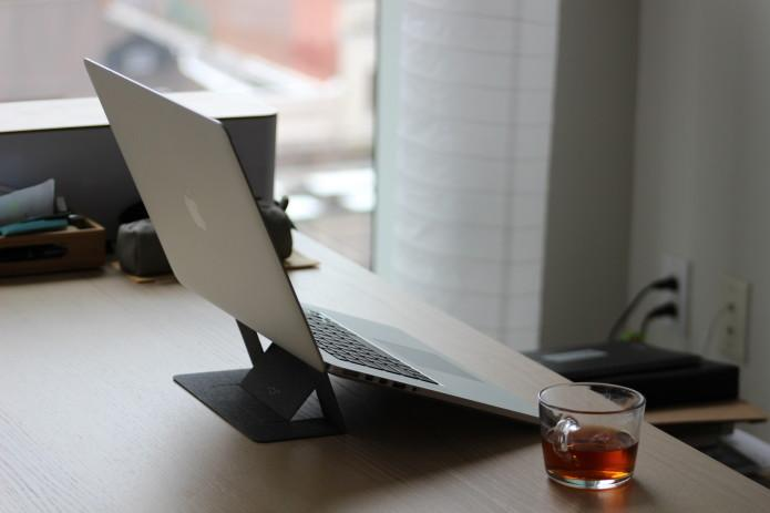 The  World's Slimmest  Laptop Or Tablet Stand—50% OFF
