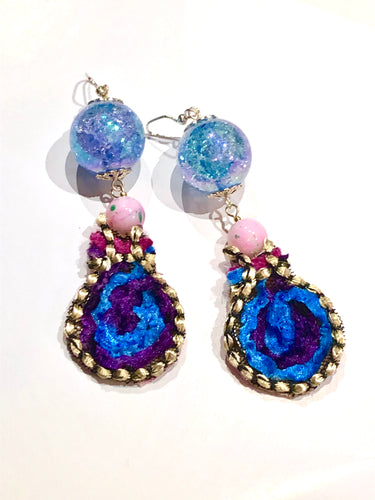 Blue Water Dream Earring - more colours available