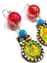 Load image into Gallery viewer, Red Berry Dream Earring