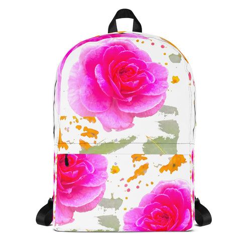Pink Rose Backpack
