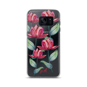 Red Tulip Samsung Case - by petiteAmoolyam