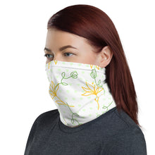 Load image into Gallery viewer, Flower Green Heart Face Mask Neck Gaiter