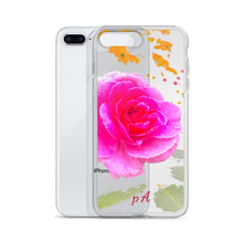 Load image into Gallery viewer, Pink Rose iPhone Case - by petiteAmoolyam