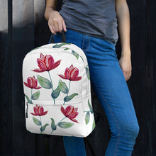 Load image into Gallery viewer, Red Tulip Backpack