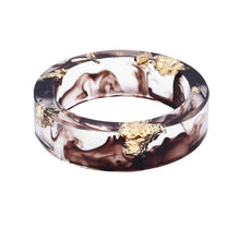 Load image into Gallery viewer, Hot Colored handmade Gold inlayed Resin Ring For Women and Men