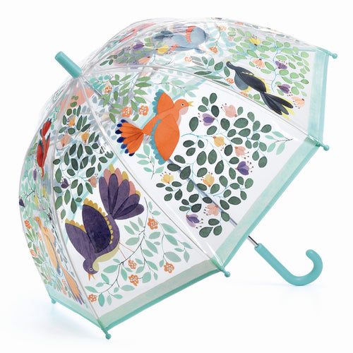 Djeco Umbrella Flowers & Birds - Mini Pop Style