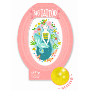 Djeco Big Tattoos Aqua blue by Djeco - Mini Pop Style