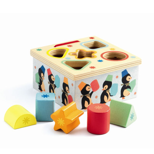 Djeco Sorting Box Geo Pingy by Djeco - Mini Pop Style