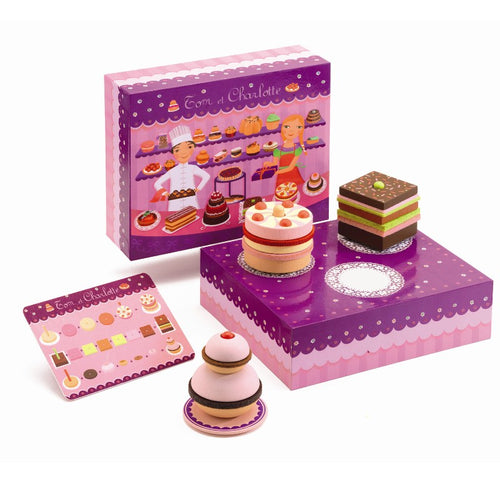 Djeco Role Play Charlotte & Tom Patisserie by Djeco - Mini Pop Style