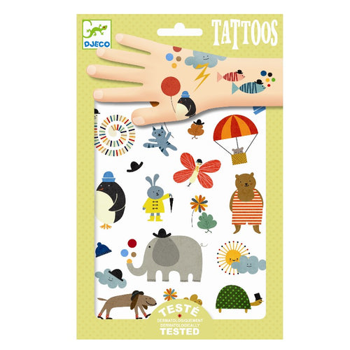 Djeco Tattoos // Pretty Little Things - Mini Pop Style