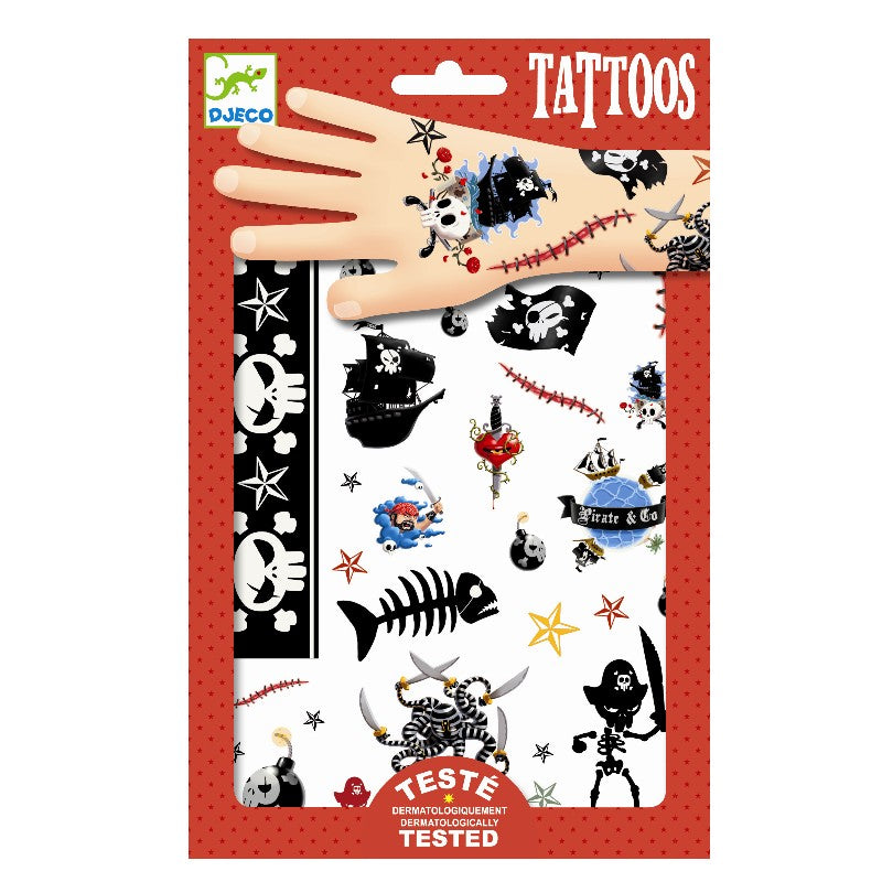 Djeco Tattoos // Pirates by Djeco - Mini Pop Style