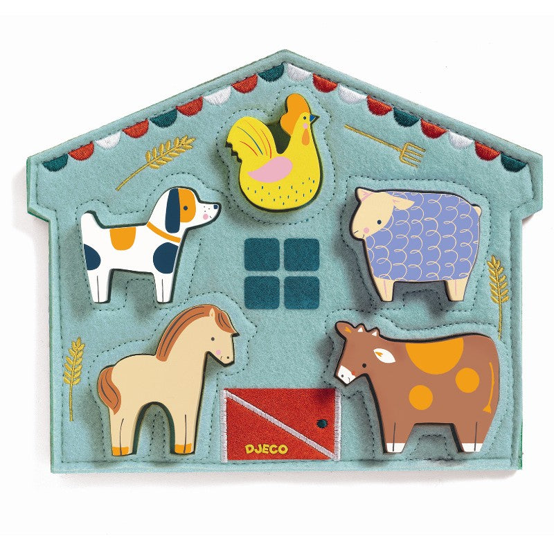 Djeco Relief Puzzle Mowy by Djeco - Mini Pop Style