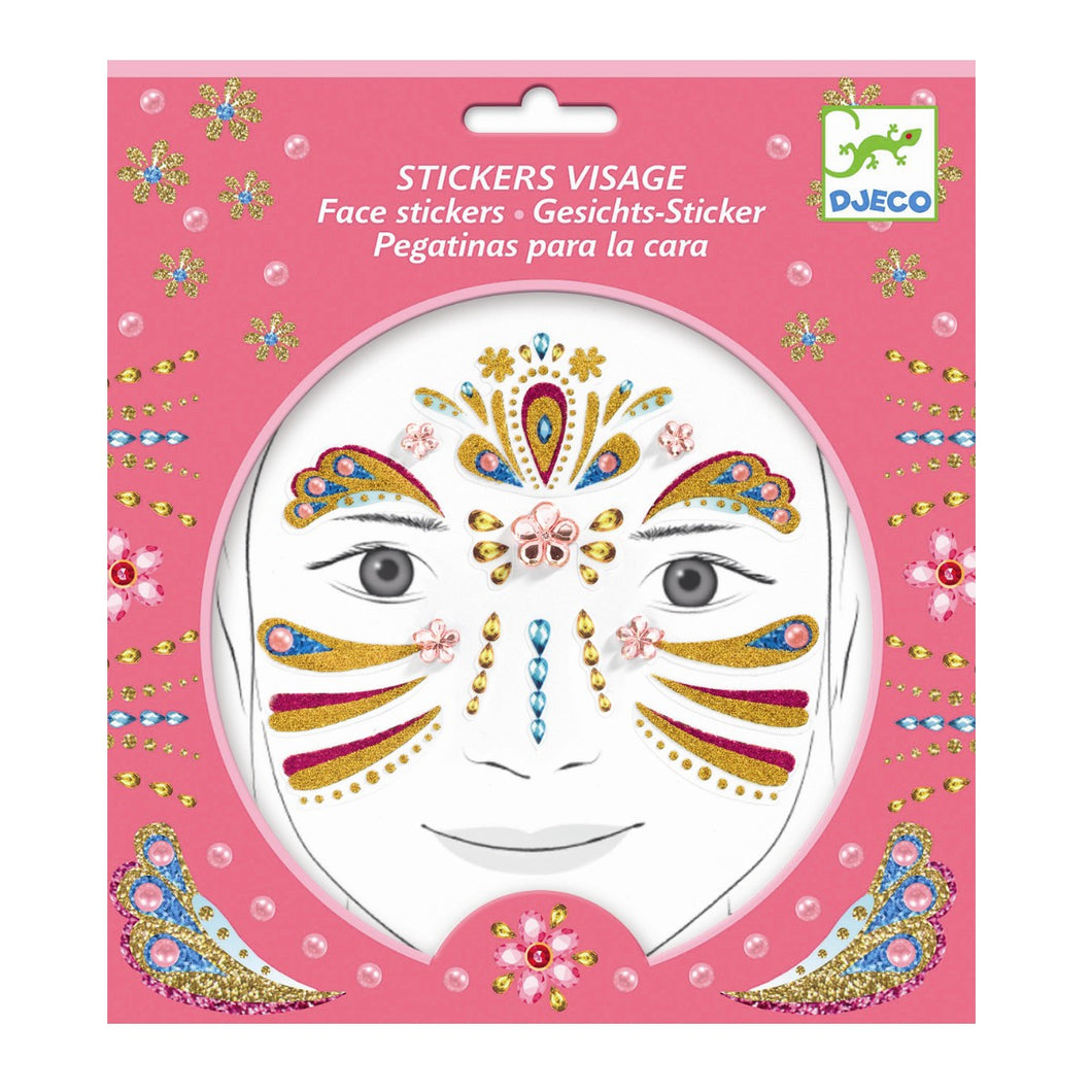 Djeco Tattoos Face Gold Princess by Djeco - Mini Pop Style