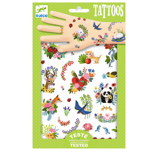 Djeco Tattoos // Happy Spring - Mini Pop Style