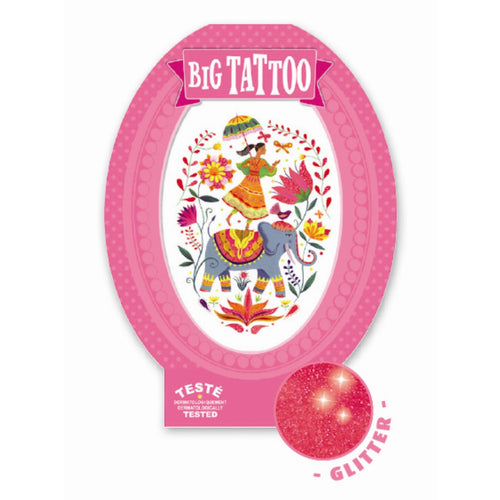 Djeco Big Tattoos Rose India by Djeco - Mini Pop Style