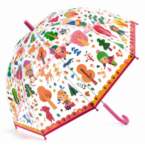Djeco Umbrella Parapluie forêt - Mini Pop Style