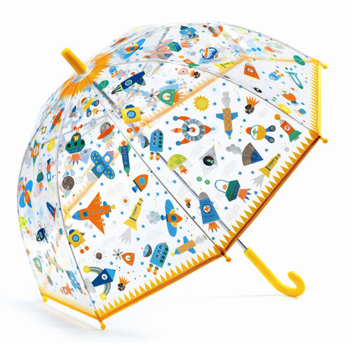 Djeco Umbrella Parapluie Véhicules Volants - Mini Pop Style