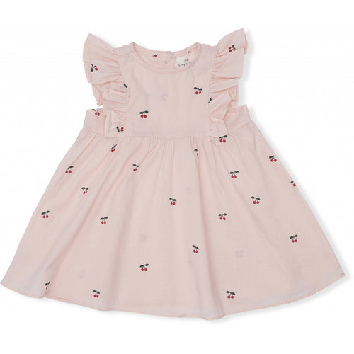 Konges Sløjd Emily Dress // Cherry Blush by Konges Sløjd - Mini Pop Style