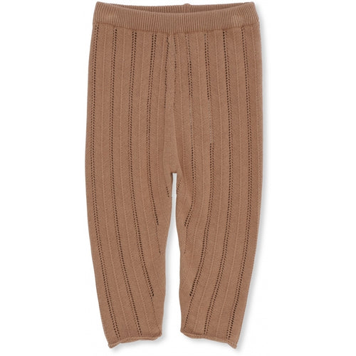 Konges Sløjd Bremer Pants Pointelle // Sahara - Mini Pop Style