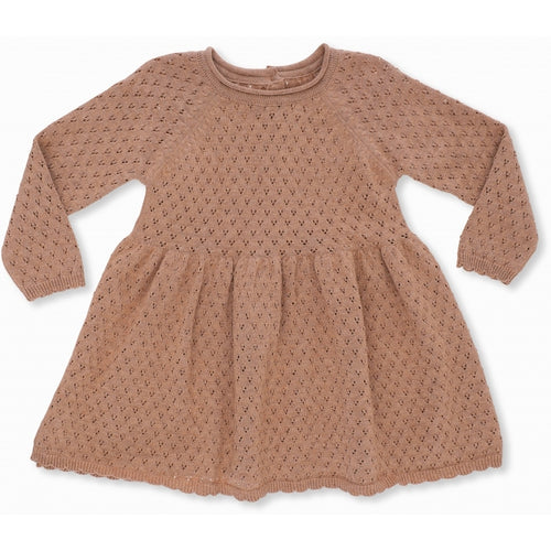 Konges Sløjd Ballerina Dress Cotton Knit // Sahara by Konges Sløjd - Mini Pop Style