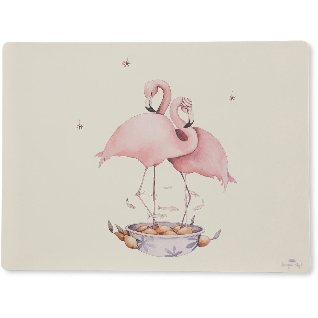 Konges Sløjd Placemate Silicon // Flamingo by Konges Sløjd - Mini Pop Style