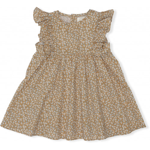 Konges Sløjd Emily Dress // Melodie Lemonade by Konges Sløjd - Mini Pop Style