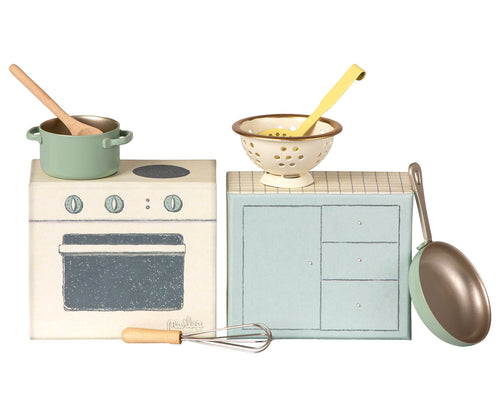 MAILEG Cooking Set by MAILEG - Mini Pop Style
