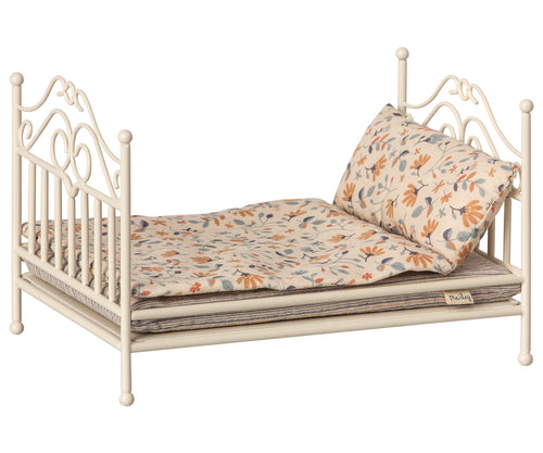 MAILEG Vintage Bed Micro // Soft Sand by MAILEG - Mini Pop Style