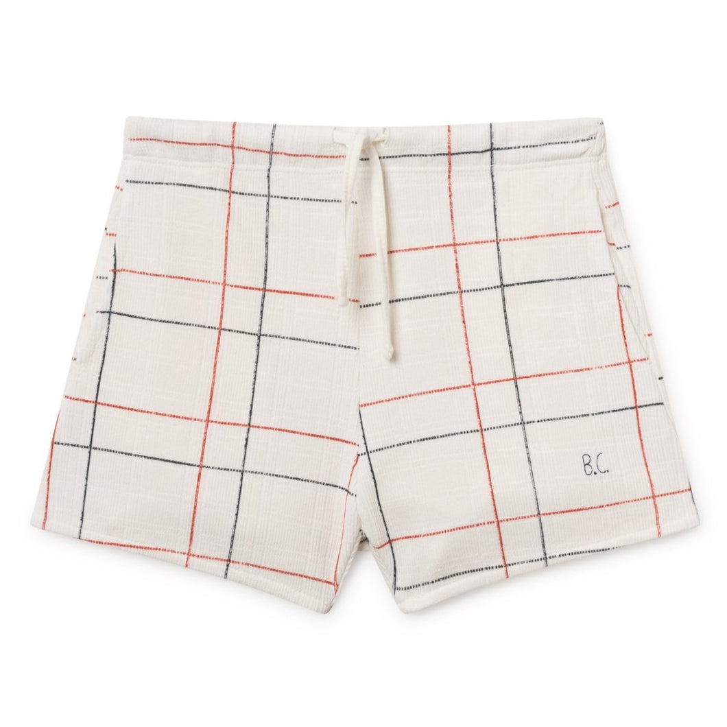 BOBO CHOSES Shorts Lines White by BOBO CHOSES - Mini Pop Style