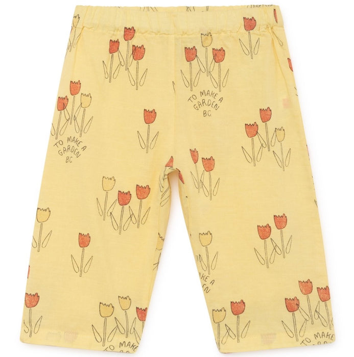 BOBO CHOSES Baggy Trousers Poppy Prairie - Mini Pop Style