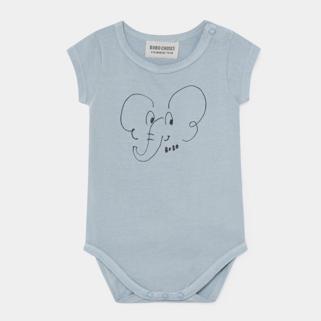 BOBO CHOSES Elephant Short Sleeve Body